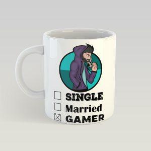 Single, Married, GAMER bögre