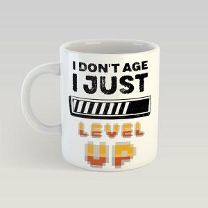 I don't age just level up bögre