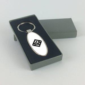 GoodBad93 ovális alakú sörnyitós kulcstartó