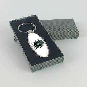 Scheff Classic ovális alakú sörnyitós kulcstartó