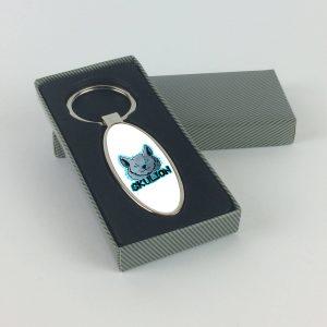 skulioN ovális alakú sörnyitós kulcstartó