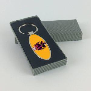 Pancho Bar ovális alakú sörnyitós kulcstartó