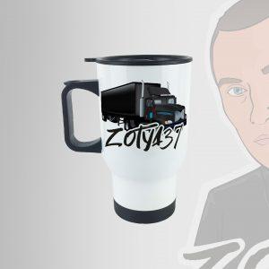 Zotya37 kamionos termosz bögre