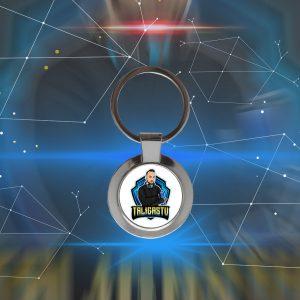 TaligásJózsef köralakú kulcstartó