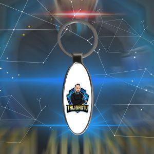 TaligásJózsef ovális alakú sörnyitós kulcstartó