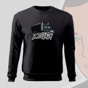 Zotya37 kamionos sima pulóver